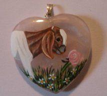 #goatvet likes this hand-painted Boer goat pendant