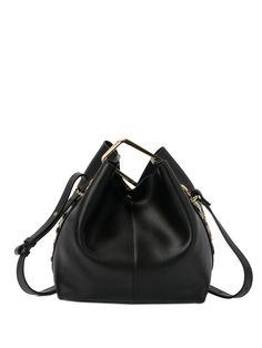#AdoreWe #StyleWe Shoulder Bags❤️Designer MINGY Cowhide Leather Rivet Push Lock Crossbody Bag - AdoreWe.com