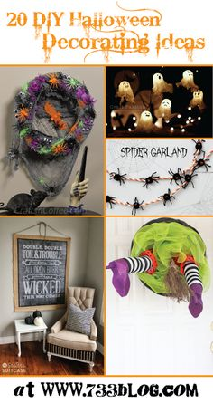 DIY Halloween Decora
