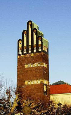 The Wedding Tower, Darmstadt, Josef Maria Olbrich