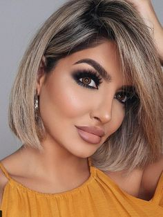 If you are looking for a modern short bob haircut, we are searching new unique hair styles and collect them in 40 Trendy Modern Short Bob Hairstyles of 2020 Short Bob Hairstyles, Cool Hairstyles, Pixie Haircuts, Medium Hairstyles, Braided Hairstyles, Wedding Hairstyles, Lob Haircut, Haircut Styles, Fine Hair