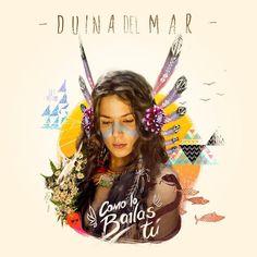 """Duina Del Mar """" Como Lo Bailas Tu """"  Video Lyric (Con Letra)"""