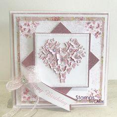 Dies by Chloe - CHCC-023 Butterfly Heart Die - £14.99 - Dies By Chloe Chcc023 Butterfly Heart Die - Chloes Creative Cards