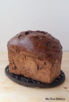 My Own Bakery: Pajareando… y Pane al Cioccolato italiano! Sweet, chewy, and fluffy Chocolate Bread! (en italiano!)