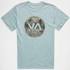 RVCA Deadmans Bay Mens T-Shirt 258135221 | Graphic Tees