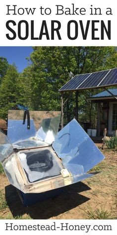 On our off-grid homestead, we bake and cook in a solar oven year-round. Here are my top tips for how to bake in a solar oven. | Homestead Honey