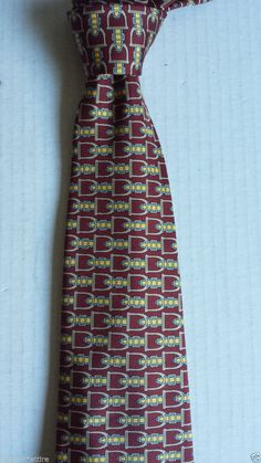 #Burberry men neck dress silk tie with pattern made in England visit our ebay store at  http://stores.ebay.com/esquirestore