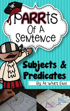... only! Grab PARRTS of a Sentence: Subjects and Predicates now! More