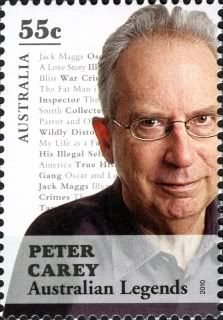 Booker Prize winning author Peter Carey