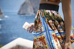 Capri's azure waters and stunning nature, the inspirations behind the…