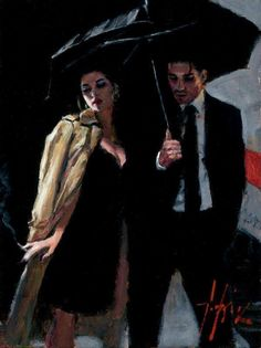 The Train Station Couple Painting, Couple Art, Fabian Perez, Jack Vettriano, Romance Art, Portraits, Pulp Art, Art Inspo, Vintage Art