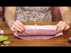 Чехол для корзинки из ткани. Мамам на заметку - YouTube