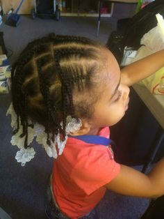 Protective style for Toddlers