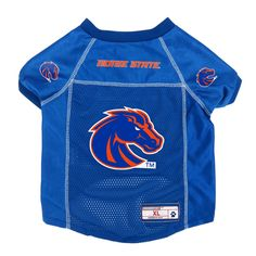 Boise State Broncos Little Earth Pet Football Jersey - XS 90ffb394d