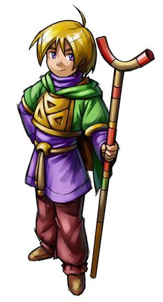 Ivan from Golden Sun