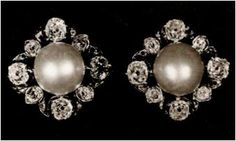 From Her Majesty's Jewel Vault: The Duchess of Teck Earrings