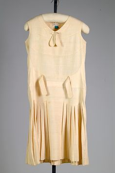 Dress Date: ca. 1925 Culture: American Medium: silk Accession Number: 2009.300.2567