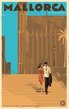 Mallorca Posters