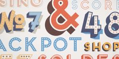 Frontage is a charming layered type system with endless design possibilities using different combinations of fonts and colors.
