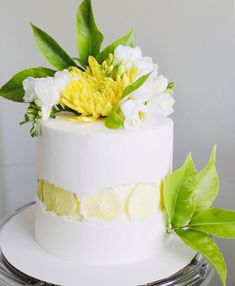 Cake nature fast and easy - Clean Eating Snacks Vanilla Buttercream, Buttercream Frosting, Vanilla Cake, Best Lemon Cake Recipe, Wedding Cake Decorations, Cake Trends, Rustic Cake, Occasion Cakes, Savoury Cake