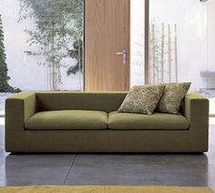 """Palazetti: Land Sofa: Sofa Sizes: 81""""wx39.5""""dx24""""h 88"""" w x 39.5"""" d x 24"""" h  comes in a variety of fabrics, need to get quote."""