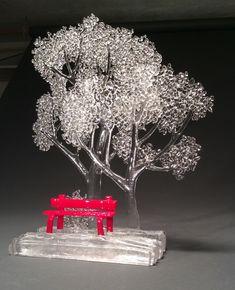 Kiln Fused Glass 13″ x 11″ x 3.5″ $800
