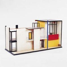 Mondrian -ish house!