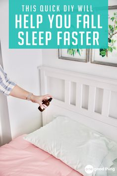 sleep in no time. How To Sleep Faster, Sleep Better, Home Health Remedies, Essential Oil Uses, Diy Pillows, Fun To Be One, Good To Know, Health And Wellness, Improve Yourself