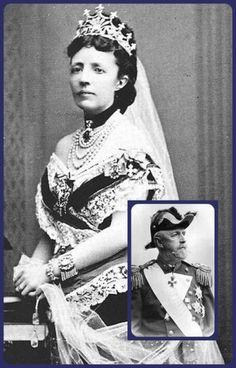 Queen Sophia of Sweden in the Nine Prong Tiara