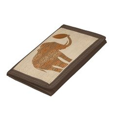 SOLD! #Elephant #Tribal #Art #Design #Wallets | by #BluedarkArt at #Zazzle      Thanks! :)  http://www.zazzle.com/elephant_tribal_art_design_wallets-256345735234111497