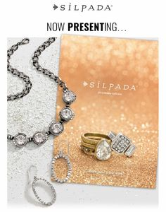 The Holiday Catalog is here! Shop online at www.mysilpada.com/kristin.matteo :)