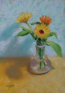 Adriana Meiss - Pastels: FLORALS
