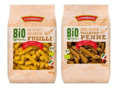 COMBINO Bio-Nudeln - - lidl.at Lidl, Fusilli, Penne, Coffee, The Originals, Food, Noodles, Fresh, Italy