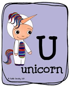 U is for Unicorn by Kaitlin Goodey