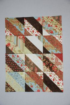 Jelly+Roll+Quilt+Patterns+for+Beginners | jelly roll quilt pattern. love these fabric ... | Quilting - Someday