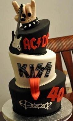 The guy I marry better be a KISS fan. This will be the grooms cake. NO DOUBT!