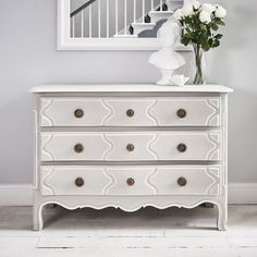 Tammy Chest - Light Grey 3 Drawers
