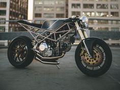 Wow! Perfect Ducati ‪#‎CafeRacer‬ Monster 900 by Hazan Motorworks #motorcycles | caferacerpasion.com