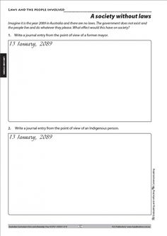 Australian Curriculum HASS. Civics and citizenship Year 4 freebie