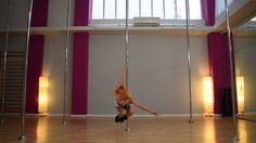Pole Art Routine 92 - Level 5 (Y2K & Yung Death Ray - What is Love)