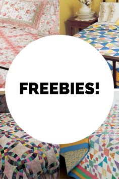 See what free quilt patterns, cash prizes, and other freebies we have available for you! It's a quilter's dream come true!