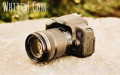 Enter this rafflecopter #giveaway from Whitney Borscheid to #win a Canon Rebel T6i & 18-55mm Kit Lens! End Date: 06/11/2016, Contest Eligibility:WW