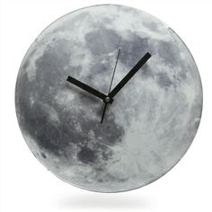 Light Up Moon Clock | ThinkGeek