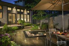 27 Awesome Garden Design Ideas: Modern Backyard Garden Design Ideas With Lighting ~ labdal.com Gardening Inspiration