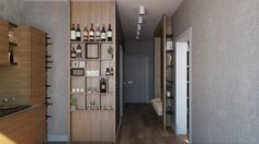 2 Single Bedroom Apartment Designs Under 75 square meters (With Floor Plans)
