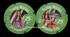 #AtlanticCityCasinoChip of the Day is a $25 Trump Marina 4th of July 2002 you can get here https://www.all-chips.com/ChipDetail.php?ChipID=2880 #CasinoChip #Trump2016 #DonaldTrump  These were a very hard one to get.  They sold out fast and prices went through the roof!.