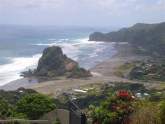 Just spent the last part of the school holidays here.  Piha, NZ.