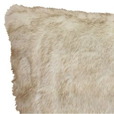 Mainstays Tip Dyed Fur Decorative Throw Pillow, x Cream Grey Image 2 of 2 Japanese Bedroom, Faux Fur Material, Fur Pillow, Home Look, Accent Pieces, Accent Pillows, Decorative Throw Pillows, Walmart, Cream