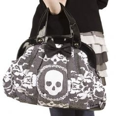iron fist lacey days handbag. i have the cream and black one.
