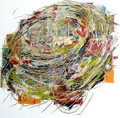 "Fro artist Kate River's ""Nest"" collage series."